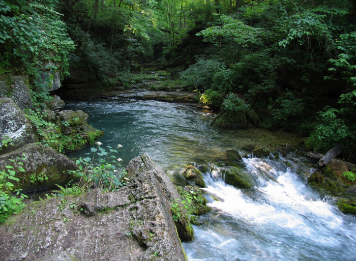 15.Greer Springs, Eleven Point River