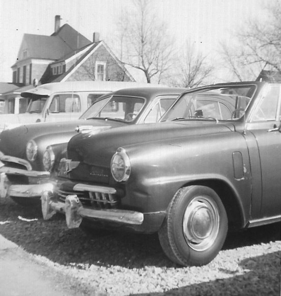 15.	Used car lot in Trenton, Frank's Used Cars on 9th Street, 1958.