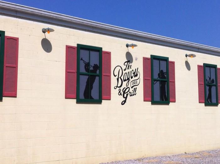 15.  The Bayou Bar & Grill, Pocahontas