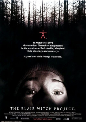 1) The Blair Witch Project