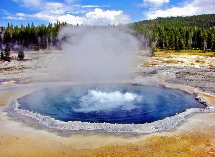 8. Crested Pool, Upper Geyser Basin, Yellowstone National Park
