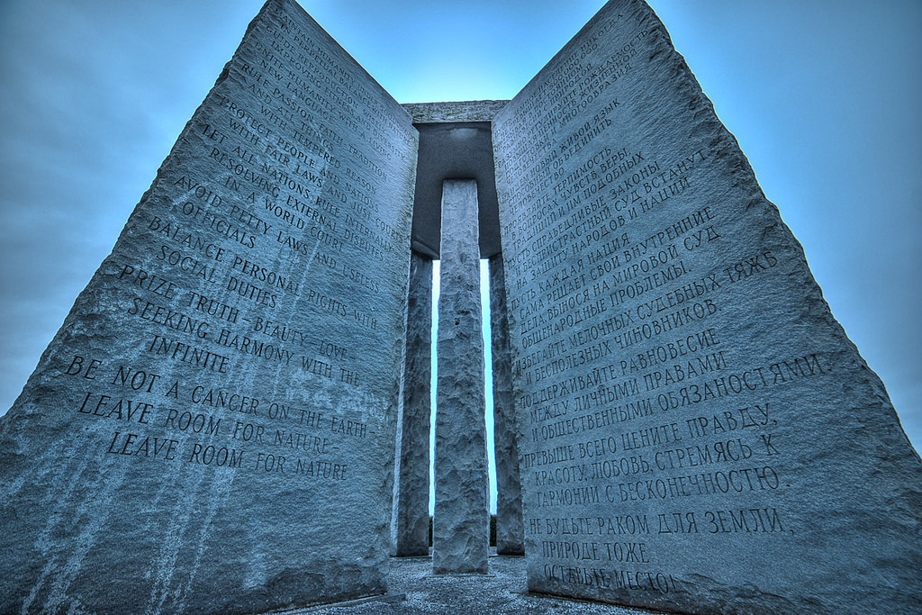 These 8 Conspiracy Theories About The Georgia Guidestones