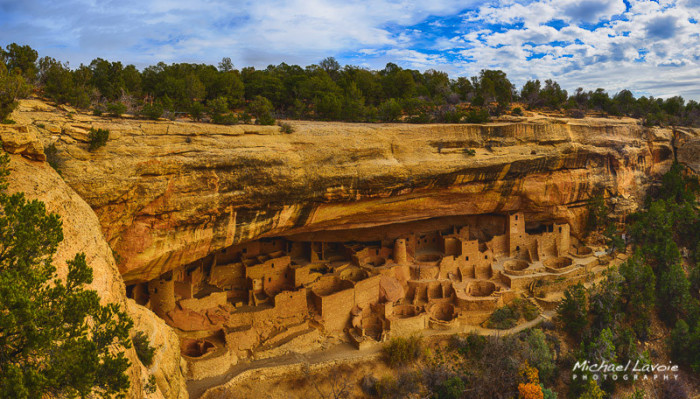 6. Because of its several thousand ancient sites, Mesa Verde is known as North America's richest archaeological preserve.