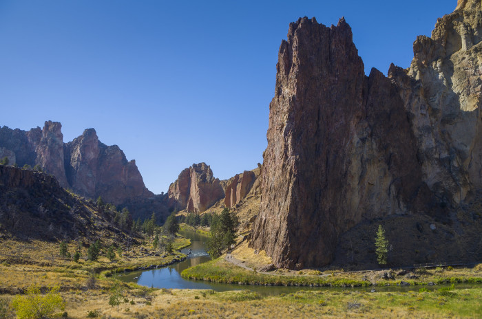 8. Have an adventure at Smith Rock State Park.