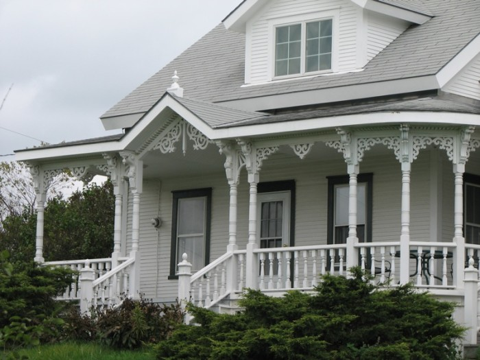 19.  Victorian porch