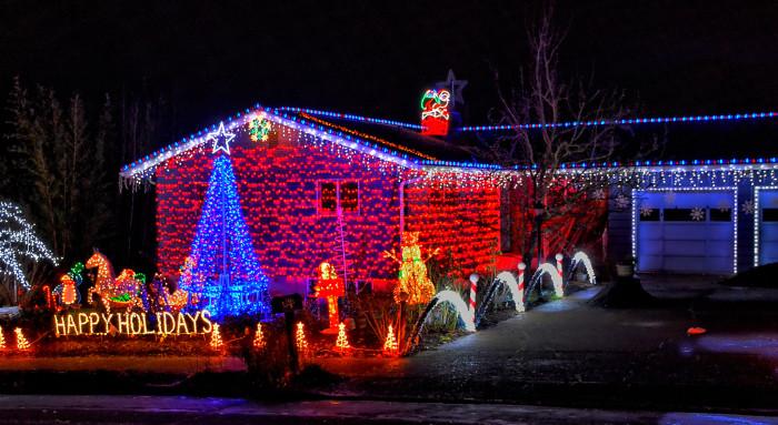 Best Christmas Lights In Portland Oregon