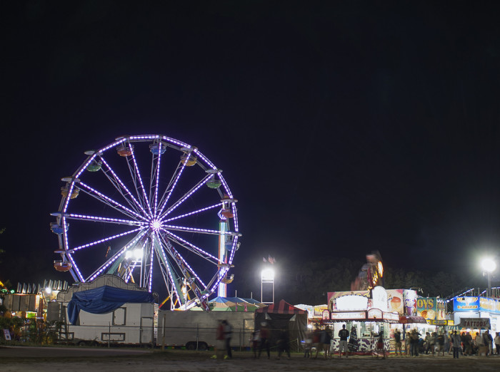 3. The Barnstable County Fair. Those lights twinkling in the darkness look like a perfect summer evening.