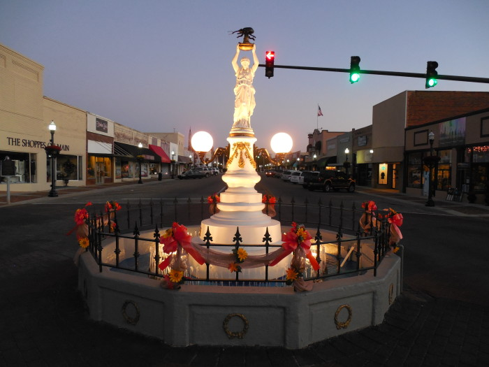 13. Boll Weevil Monument