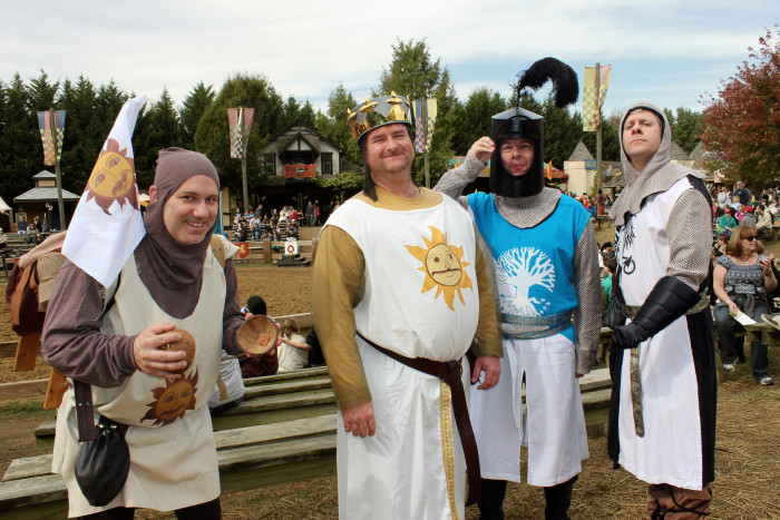 7) They are really into Renn Fest.
