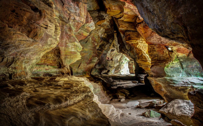 13. The Rock House in Hocking Hills State Park