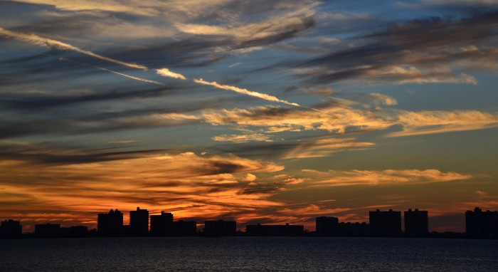 16. And this view of the Sand Key skyline taken a few moments after sunset has got to be the perfect way to end your day.
