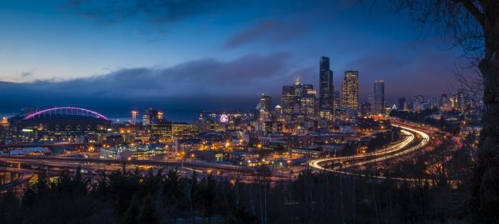 10. Sleepless in Seattle - as seen from Jose Rizal Park.