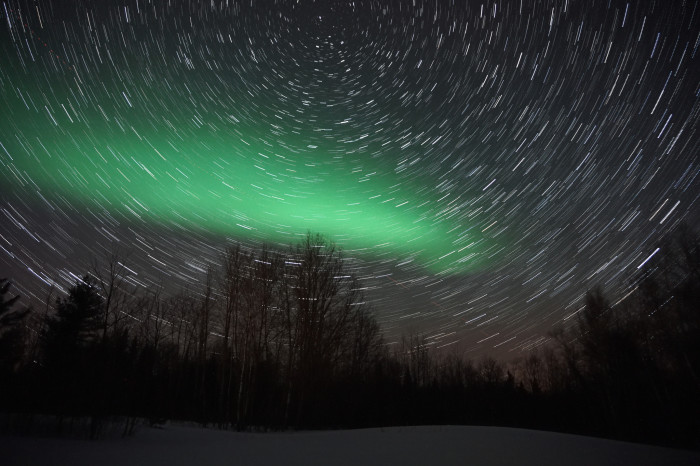 7. Anywhere you can see the Northern Lights!