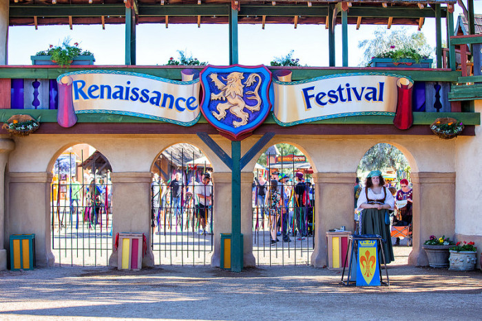 4. Gold Canyon - Arizona Renaissance Festival