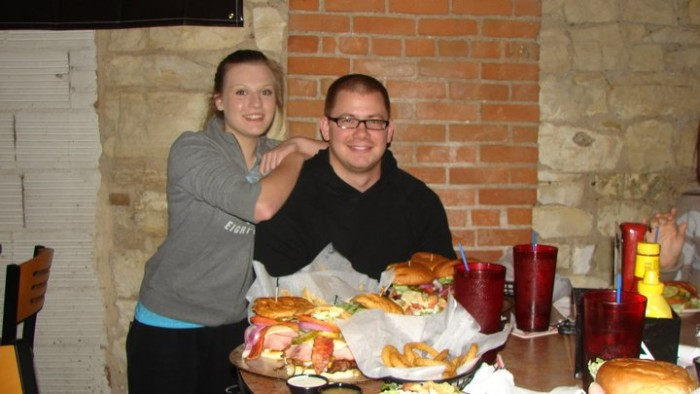 Iowa: 28,890 Challenge at Screaming Eagle American Bar and Grill (Waterloo).