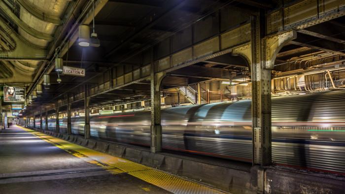 6. Newark's Ghost Train