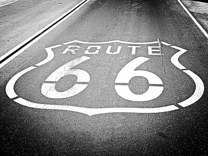 8. Route 66 during its prime