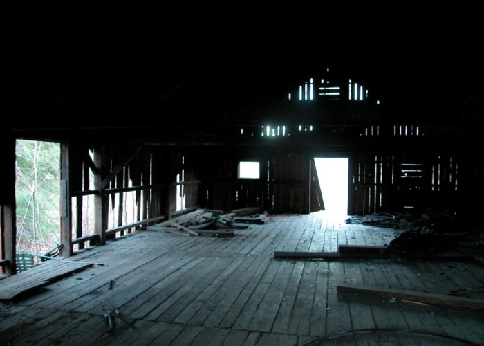 11. The moody lighting in this Chester barn is darkly magical.