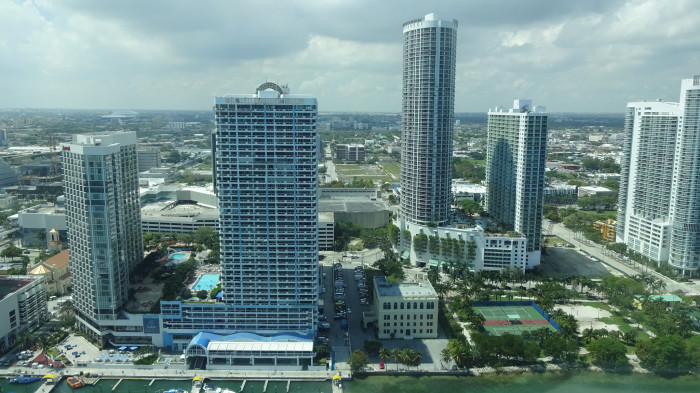 10. Ditto for this incredible bird's eye view of Miami.
