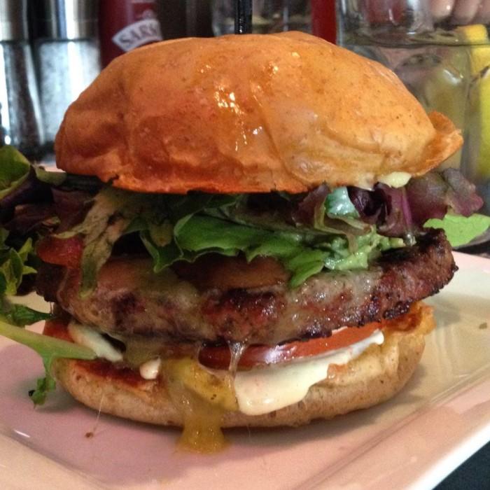 17. Burger Bach