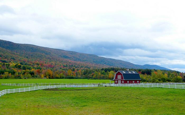 4.  Classic Vermont