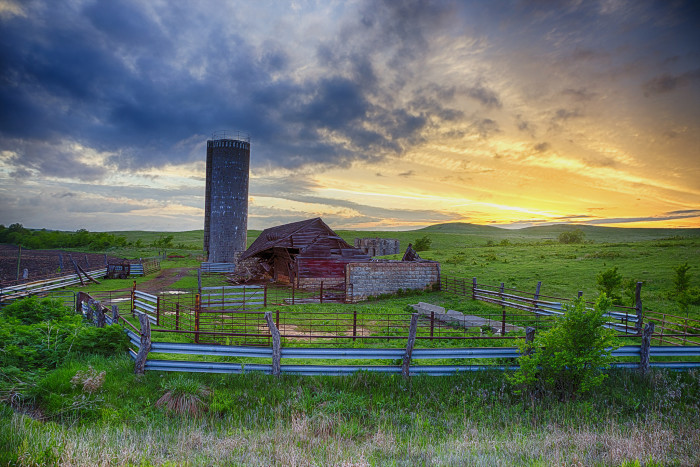 """7. """"Sometimes a bit of time off the interstate takes you through backroads which sooth the troubled soul a bit... In the heart of the Flint Hills."""""""