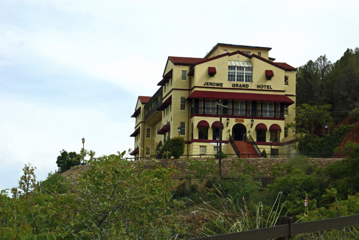 5. Explore a ghost town that came back to life in Jerome.
