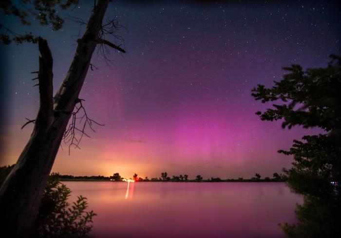 "15. ""Aurora over Kansas"""