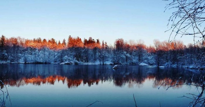 4. Nikki Sikkema snapped this beautiful photo of an Iowa lake on a chilly, winter day.