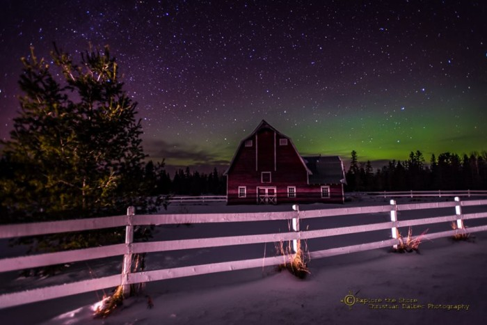 22. This New Year's aurora in Lake County would make an amazing backdrop.