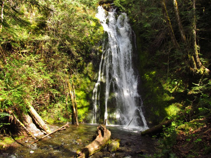 8. Or take them to see one of our state's many jaw-dropping waterfalls.