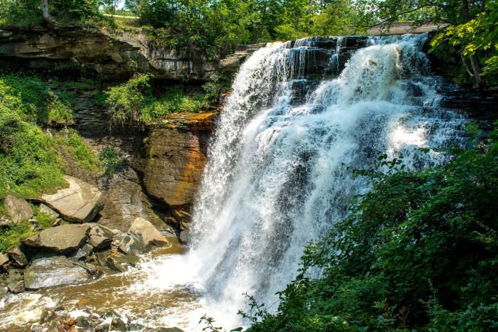 9. Brandywine Falls at Cuyahoga Valley National Park