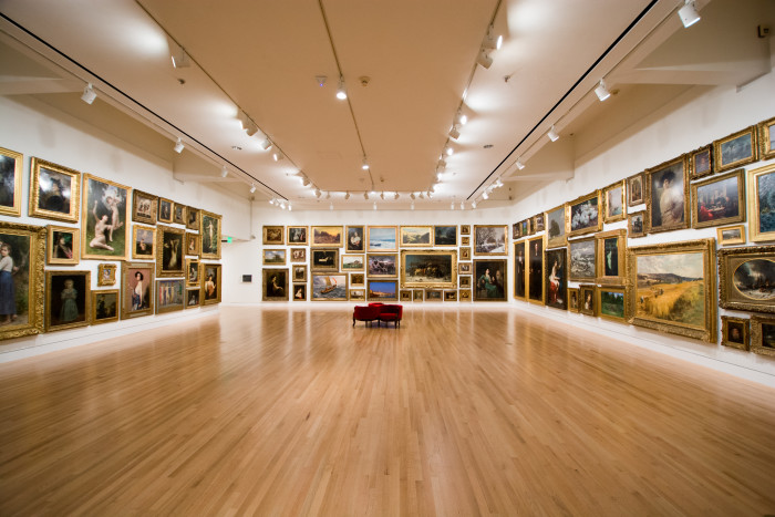 9. Show them how deep you are by taking them to a local art gallery or museum.