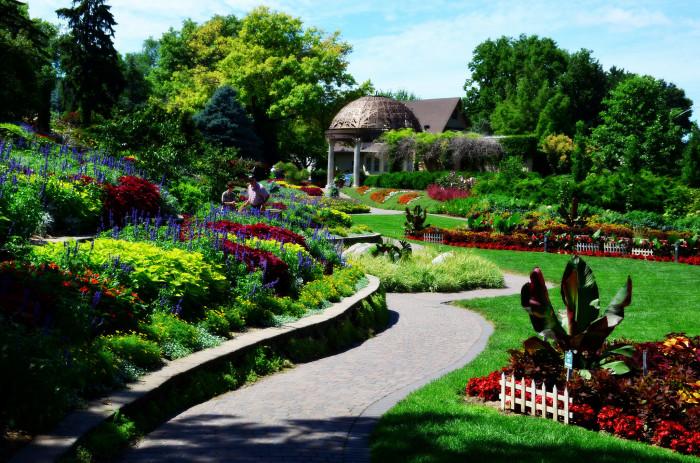 11. Sunken Gardens, Lincoln