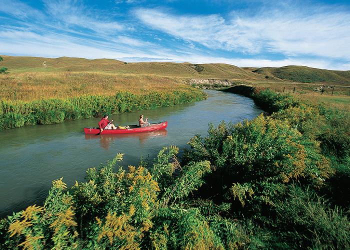 1. North Loup River, central Nebraska