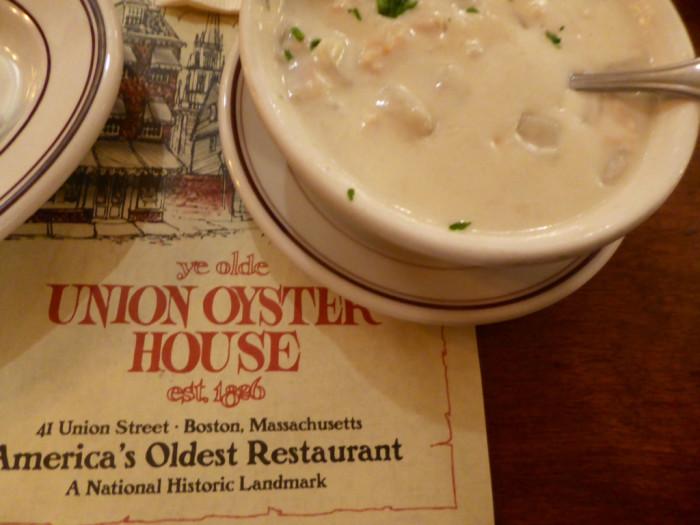 1. Union Oyster House, Boston