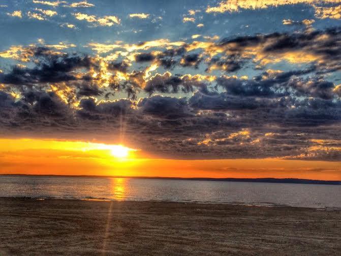 2. Sunset at Sardis Lake