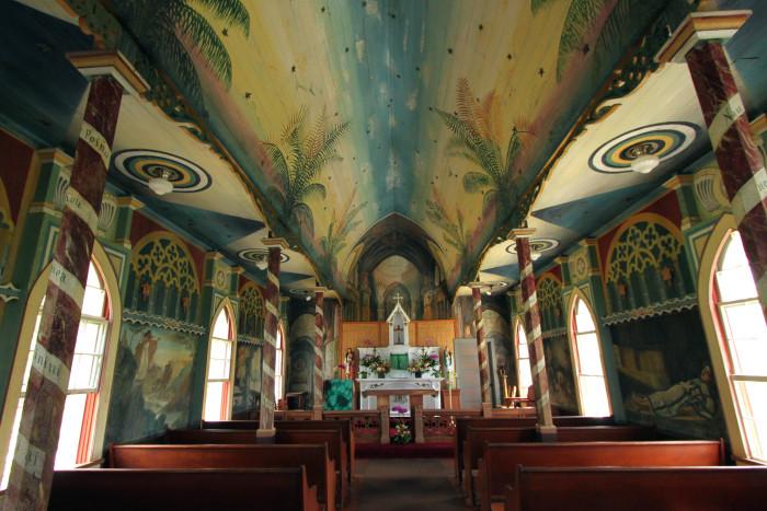 2) Painted Church, Big Island