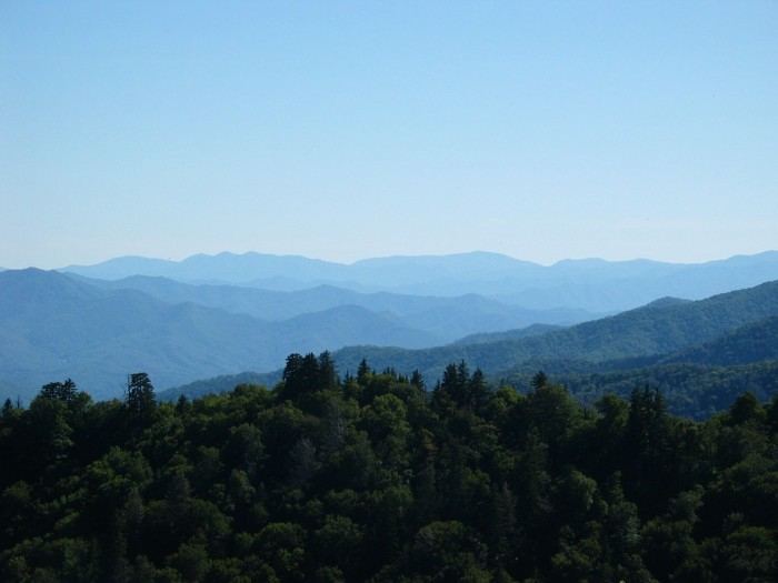 2) The Great Smoky Mountains National Park is the most visited in the nation.