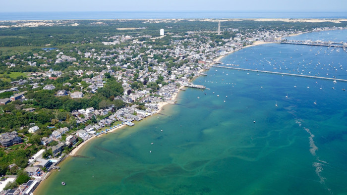 10. Can you spot the Provincetown monument?