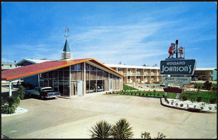1. Howard Johnson's Motor Lodge, 1950's Albany, GA