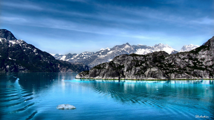 6) The gorgeous Glacier Bay!