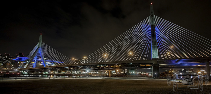 18. The Zakim Bunker Hill Bridge, Boston