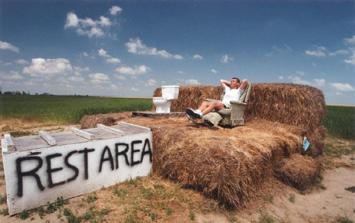 2. The Hay Bale Rest Area, Alliance