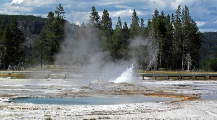 6. Brilliant Pool, Upper Geyser Basin, Yellowstone National Park