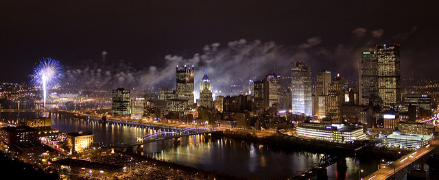 1. Pittsburgh looks magical on Light Up Night.