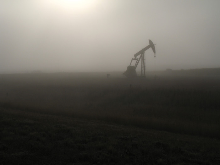 1. An eerie figure in the fog, like something out of Silent Hill...
