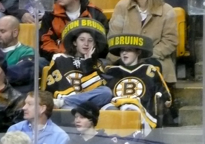 4. ...or Bruins gear.