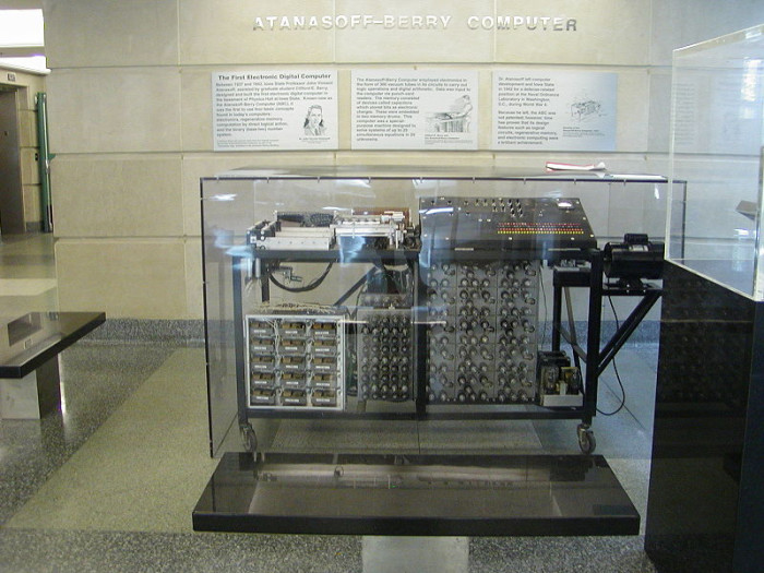 2. The first computer was invented.