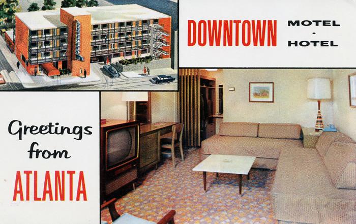 5. Downtown, Motel: Atlanta